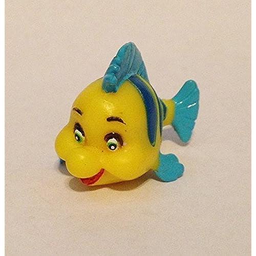 장난감 Disney 디즈니 Little Mermaid 리틀 머메이드 Mini Flounder PVC Figure 피규어 [병행수입품]