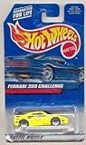 Hot Wheels (ホットウィール) 2000-162 YELLOW Ferrari (フェラーリ) 355 Challenge 1:64 スケール ミニカー ダイキャスト 車 自動車 ミニチュア 模型 (並行輸入)