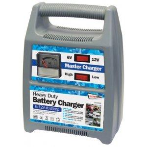 6v 12v 8Amp Heavy Duty Car Van Boat Bike Batterieladegerät