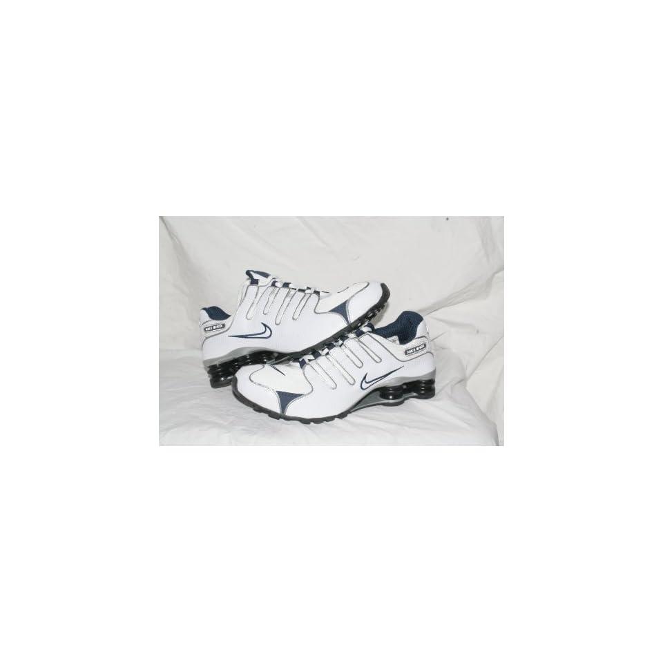 detailed look 9a9ed f7fc2 Nike Shox NZ White Blue Grey Men Size 10