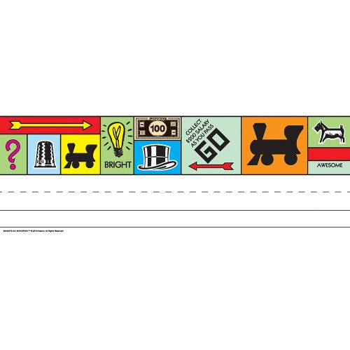 Eureka Monopoly Tented Name Plates - 1