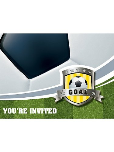 Soccer Invitation, Gatefold Diecut - 8/Pkg.