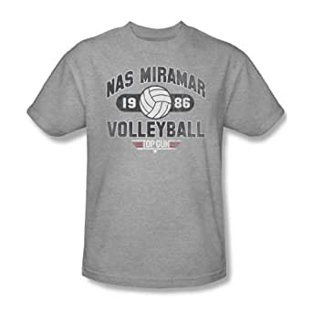 Amazon.com: Top Gun - Mens Nas Miramar Volleyball T-Shirt ... Top Gun Volleyball Shirt