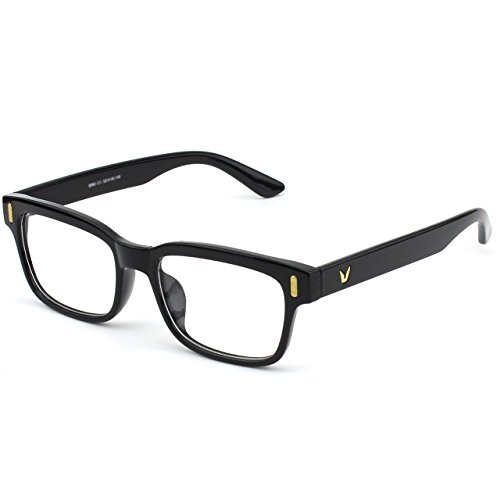 glasses-queen-201584-modern-fashion-rectangular-bold-thick-frame-clear-lens-eye-glassesshiny-black-b