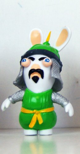 "Rabbids - Travel in Time - 2.75"" Figure - Mongolian"