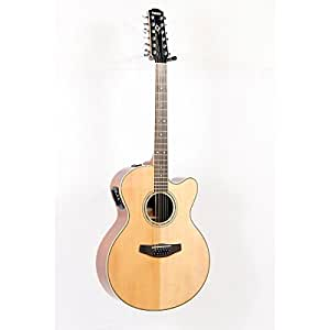 Yamaha CPX700II 12 Medium Jumbo 12 String Cutaway Acoustic Electric Guitar Natural available at Amazon for Rs.88612