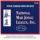 National Mah Jongg League Scorecard 2013 ~ National Mah Jongg League