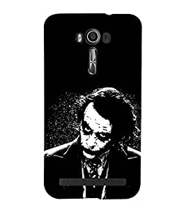 EPICCASE why so serious Mobile Back Case Cover For Asus Zenfone Go (Designer Case)