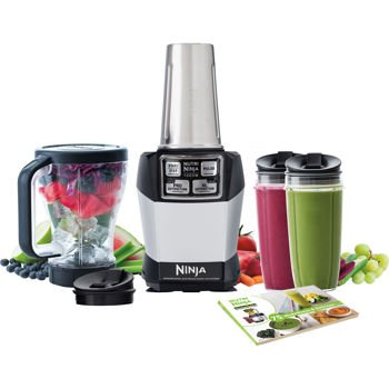 Nutri Ninja Blender Auto-IQ Complete Extraction System 1000W Professional BL486 (High Speed Blender Ninja compare prices)