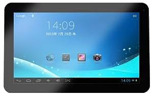 KEIAN 10インチ マルチタッチパネル 1024×600液晶搭載 アンドロイドタブレット 10インチ ブラック KPD103R