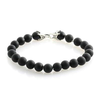 Amazon.com: David Yurman Black Onyx Spiritual Bead Bracelet 8mm