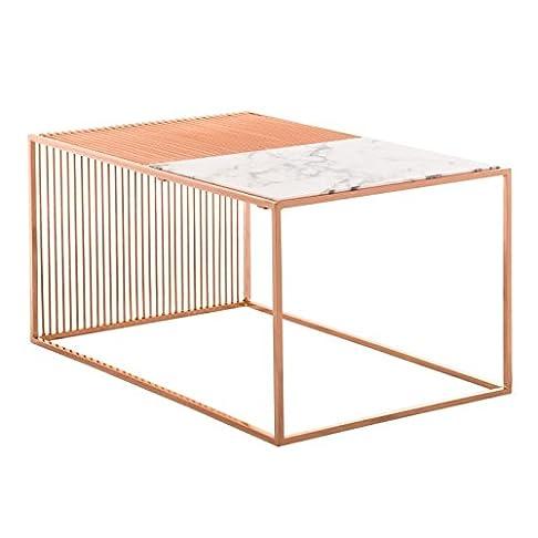 Tavolino Einar Giallo Oro Rosa - (Scegli un colore) SKLUM
