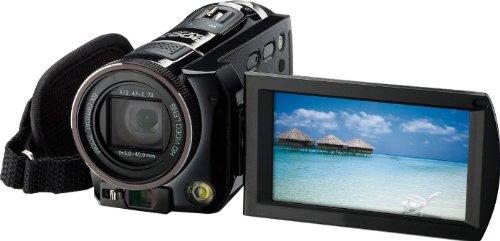 Rollei Movieline SD 800 Camcorder (5 Megapixel Kamera, 7,62 cm (3,0 Zoll) TFT-Display, Full HD, 8-fach optischer Zoom, USB 2.0) schwarz