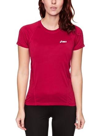 Amazon.com: ASICS Lady VESTA Crew Neck Short Sleeve T-Shirt - X Large