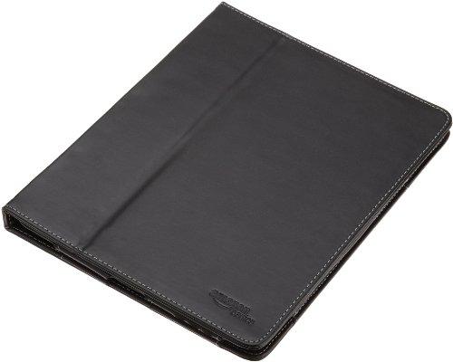 AmazonBasics - Etui en cuir pour Ipad 1 3G - Noir [Déballer sans s'énerver par Amazon]