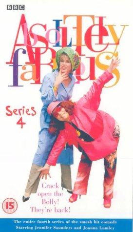 Absolutely Fabulous - Series 4 [VHS] [1992]