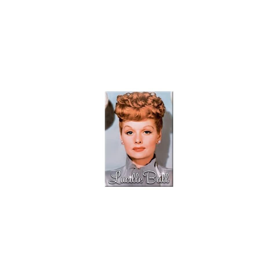 I Love Lucy Lucille Ball Grey Dress Magnet 29637LU