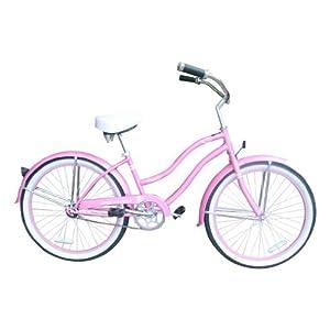 "Amazon.com : Micargi Bicycles Tivola 24"" Women's Beach Cruiser Bicycle"