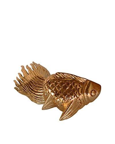 Asian Art Imports Gold-Tone Koi Fish