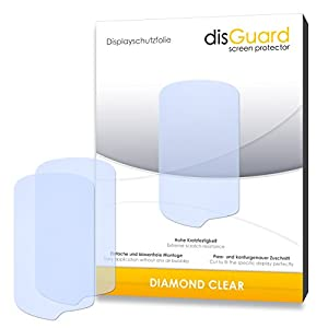 3 x disGuard Diamond Clear Screen Protector for Garmin Oregon 600 - PREMIUM QUALITY (hard-coated, bubble free application)