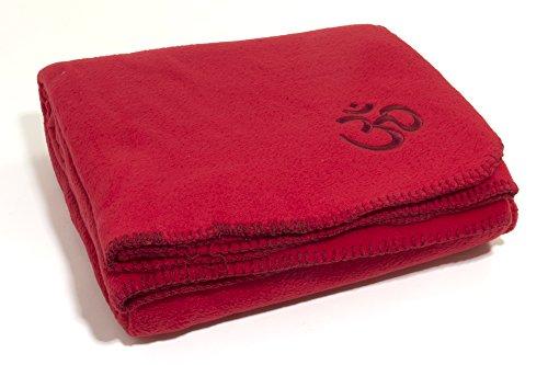 asana-yoga-meditation-and-relaxation-fleece-blanket-bordeaux-red