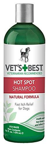 Bramton Company 3165810010 Vet'S+Best Hot Spot Shampoo For Dogs, 16 Ounce
