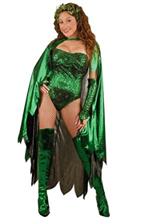 Adult Women's Poison Ivy Costume (Sz:X-small 2-4)