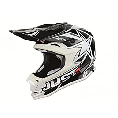 Casque just1 j32 motox blanc taille l - Just1 433526L