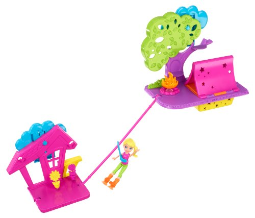 Polly Pocket Wall Party Camping Playset Amazon.com