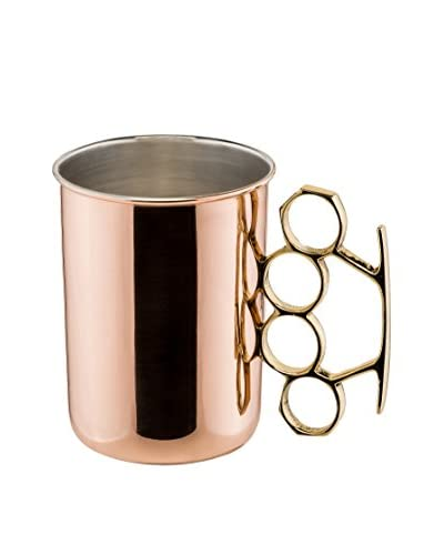 Old Dutch International Brass Knuckle 20-Oz. Copper Moscow Mule Mug, Copper