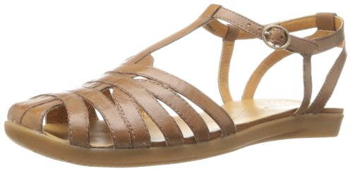 BareTraps Women's Ellary Fisherman Sandal,Auburn,6 M US at Amazon.com