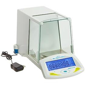 Adam Equipment PW 124 Analytical Balance, 120g Capacity, 0.0001g Readability