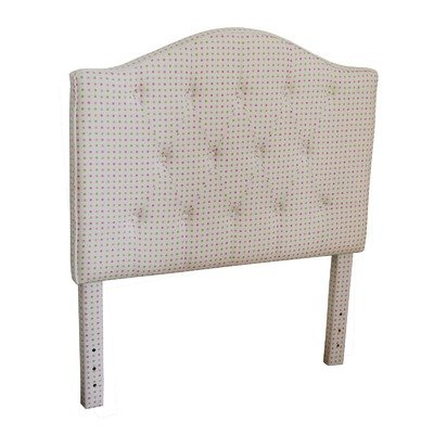 Cheap Twin Upholstered Kids Headboard Finish: Multi Dot (K3208-A426)