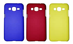 Winsome Deal 3 Pieces of Exclusive Quality Hard Back Cover Case For Samsung Galaxy ON7