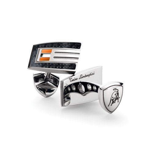 Tonino Lamborghini Orange Corsa Cufflinks