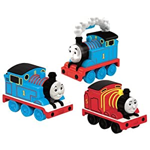 Fisher Price Thomas and Friends Light Up Talking Thomas with Train Set (W6893)