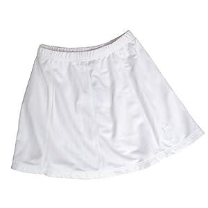 Buy Ladies Balle de Match Swing Skirt-White by Balle de Match