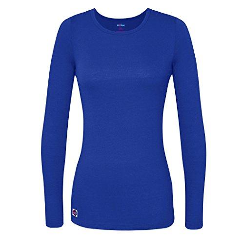 sivvan-womens-comfort-long-sleeve-t-shirt-underscrub-tee-s8500-royal-blue-m