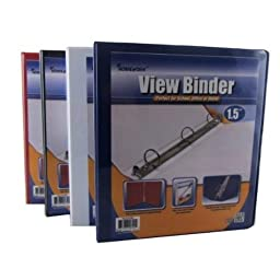 Binder - View Front Pocket - 3-1.5\