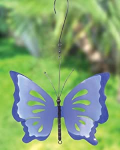 Butterfly Decorative Spinner Size: Large