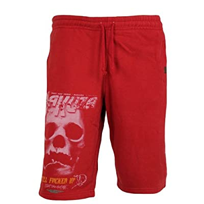 Yakuza Herren Shorts Jogginghose JOK 435 ribbon red