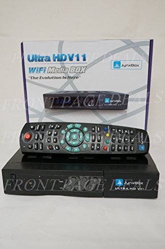 Jynxbox Ultra HD V11 with Factory-Installed JB200 Tuner/Adapter and USB Wifi