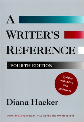 A Writer's Reference, Hacker, Diana
