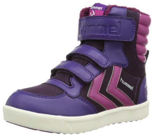 Hummel HUMMEL STADIL SUPER JR POLY HG High Unisex-Child Purple Violett (PARACHUTE PURPLE 3287) Size: 35