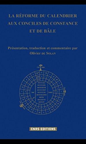 La réforme du calendrier aux conciles de Constance et de Bâle