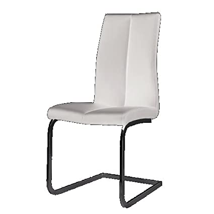 K&D Angelico Dining Chair, Set of 2 (White)