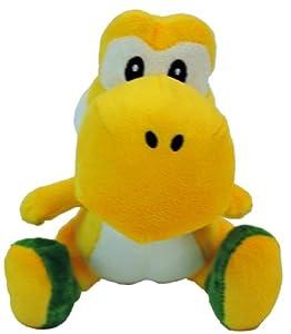 "Amazon.com: Nintendo Super Mario Bros. Wii Plush Toy - 6"" Yellow Yoshi"