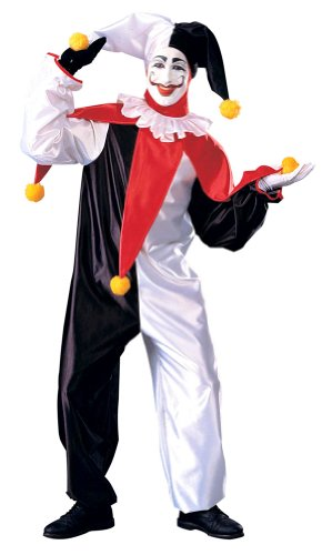 Adult Jingles, the Super Clown Costume - Adult Std.