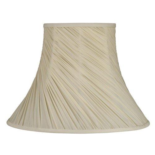 Laura Ashley SFW611 Classic 11-Inch Bell Shade, Cream