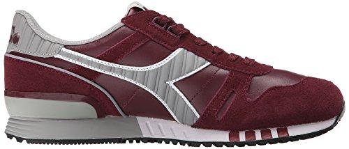 Diadora Men's Titan Leather L/S Running Shoe, Advent Violet, 12 M US